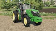 John Deere 6M-series row crop for Farming Simulator 2017