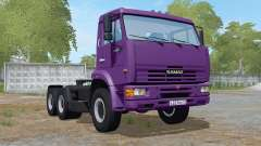 KamAZ-65116 with tipping trailer for Farming Simulator 2017