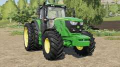 John Deere 6R-series more tires for Farming Simulator 2017