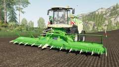 Krone BiG X 1180 use spherical trailers for Farming Simulator 2017