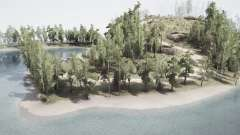 Coastal Green Hills for MudRunner