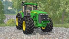 John Deere 8520 pantone greeꞑ for Farming Simulator 2015