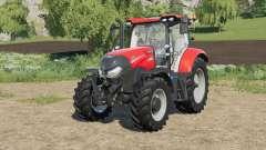 Case IH Maxxum adjusted transmission settings for Farming Simulator 2017