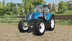 New Holland T-series 25 percent more hp for Farming Simulator 2017
