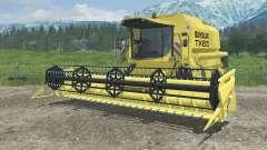 New Holland TX65 dynamic exhaust for Farming Simulator 2013