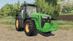 John Deere 8R-series multicolor rims for Farming Simulator 2017