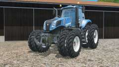 New Holland T8.320 zwillingsbereifung for Farming Simulator 2015