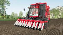 Case IH Module Express 635 working speed 20 km-h for Farming Simulator 2017