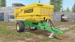 Joskin Trans-Cap 5000-14 golden dream for Farming Simulator 2017