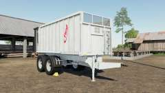 Fliegl TMK 266 Bull gray nurse for Farming Simulator 2017