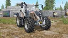 Fendt 700 Vario added tires for Farming Simulator 2017