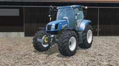 New Holland T6.160 no brackets for Farming Simulator 2015
