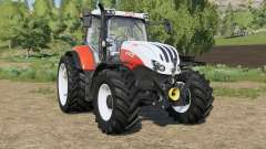 Steyr Profi CVT new tires for Farming Simulator 2017