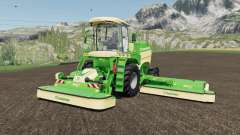 Krone BiG M 450 more horsepower for Farming Simulator 2017