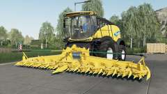 New Holland FR780 choice tire brand for Farming Simulator 2017