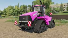 Case IH Steiger Quadtrac in color pink for Farming Simulator 2017