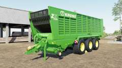 Krone ZX 560 GD capacity 100.000 liters for Farming Simulator 2017
