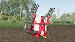 Kuhn Deltis 1302 MTA3 work speed 17 km-h for Farming Simulator 2017