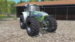 Deutz-Fahr Agrotron X 720 graphic improvements for Farming Simulator 2015