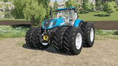 New Holland T7-series Michelin double wheels for Farming Simulator 2017