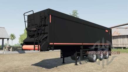 Krampe SB II 30-1070 black&red for Farming Simulator 2017