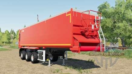 Krampe SB II 30-1070 red grainbelt for Farming Simulator 2017