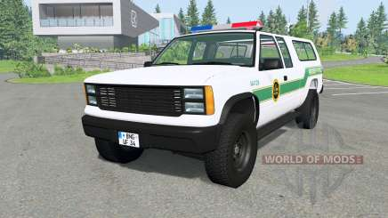 Gavril D-Series U.S. Border Patrol v2.1 for BeamNG Drive