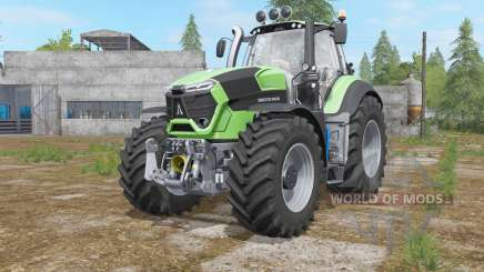 Deutz-Fahr 9-series added light sources for Farming Simulator 2017
