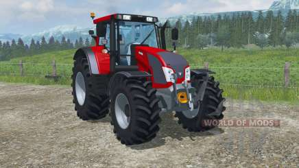 Valtra N163 twin wheels for Farming Simulator 2013