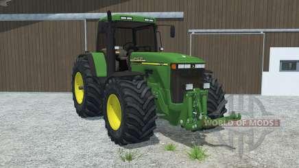 John Deere 8110 left door opens for Farming Simulator 2013
