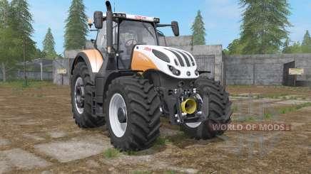 Steyr Terrus 6270 & 6300 CVƬ for Farming Simulator 2017
