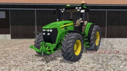 John Deere 7930 four configurations for Farming Simulator 2015