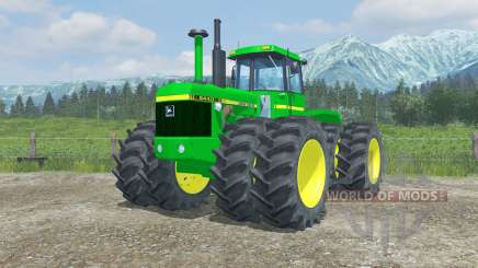 John Deere 8440 moving parts interior for Farming Simulator 2013