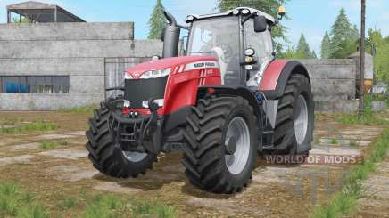 Massey Ferguson 8727〡8732〡8737 for Farming Simulator 2017