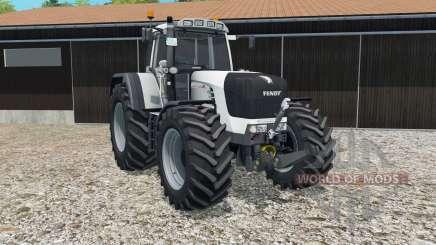 Fendt 930 Vario TMS in white for Farming Simulator 2015