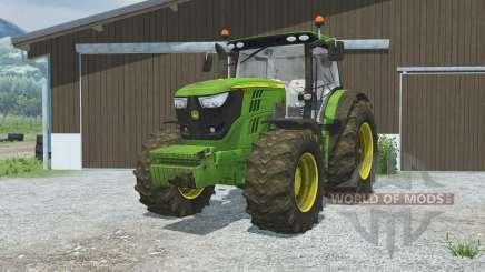 John Deere 6170R&6210R front loader for Farming Simulator 2013