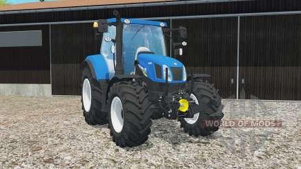 New Holland T6.160 gloss entfert completely for Farming Simulator 2015