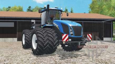 New Holland T9.565 added dual wheels for Farming Simulator 2015