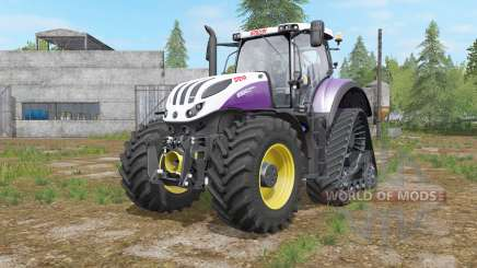 Steyr Terrus 6000 CVT raupenfahrwerk for Farming Simulator 2017