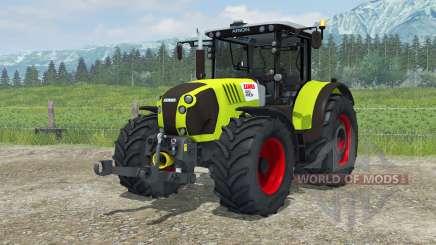 Claas Arion 620 animated interior for Farming Simulator 2013