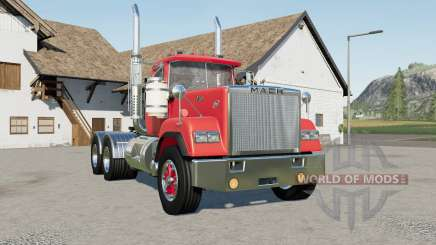 Mack Super-Liner Day Cab 1980-s for Farming Simulator 2017