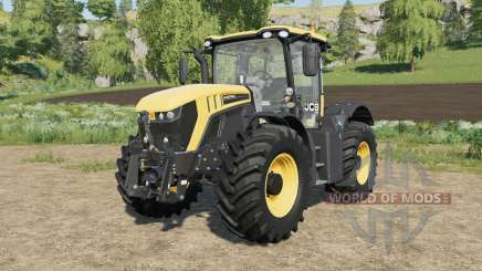 JCB Fastrac 4220 with engine configuration for Farming Simulator 2017