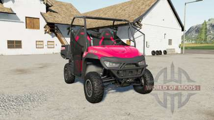 Mahindra Retriever 1000 for Farming Simulator 2017