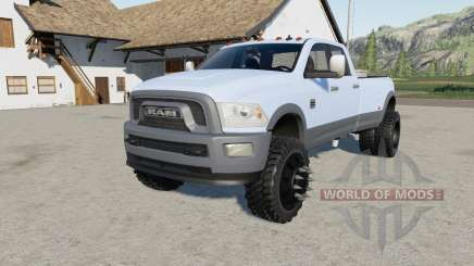 Dodge Ram 3500 multicolor for Farming Simulator 2017