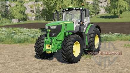 John Deere 6R-series with SeatCam for Farming Simulator 2017