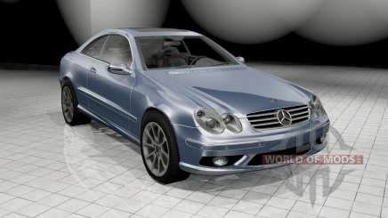 Mercedes-Benz CLK 55 AMG (C209) 2003 for BeamNG Drive