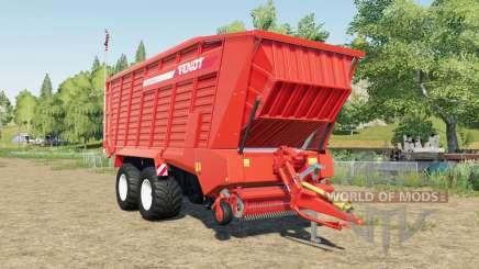 Fendt Tigo XR 75 D capacity 50000 liters for Farming Simulator 2017