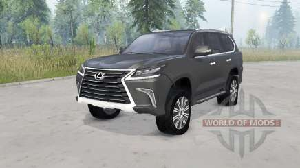 Lexus LX 570 (URJ200) 2016 for Spin Tires