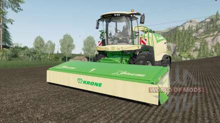 Krone BiG X 1180 use spherical trailers fix for Farming Simulator 2017