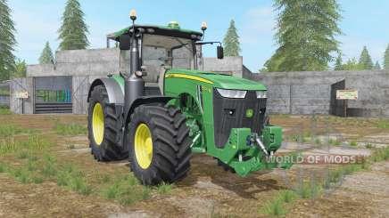 John Deere 8R-series hydraulics&weight for Farming Simulator 2017